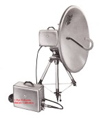 Pye M1000 transportable microwave link