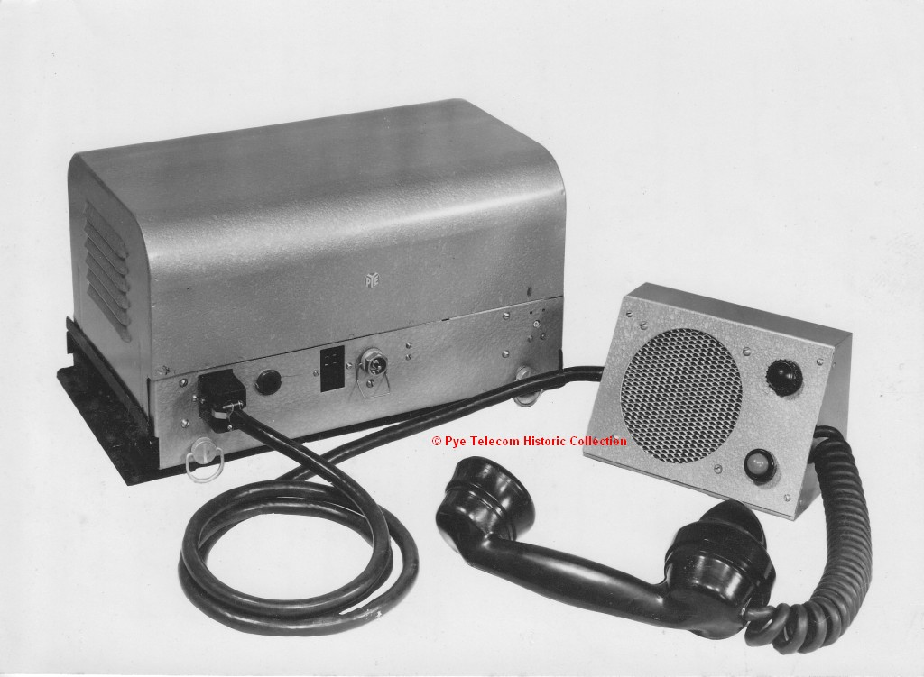 The Pye Museum - Pye Telecom Products - Vehicle Mounted PMR