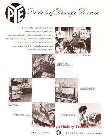 1959 PYE Advert