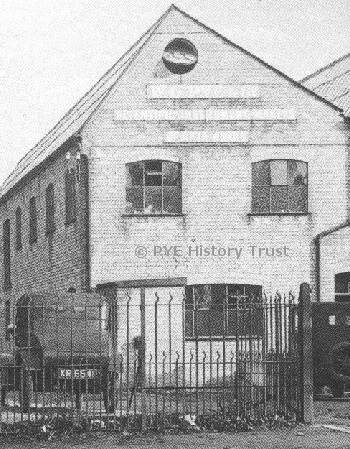 The original WG Pye factory (circa 1913)